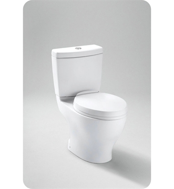 TOTO CST416M#01 Aquia II Dual Flush Toilet With Finish: Cotton
