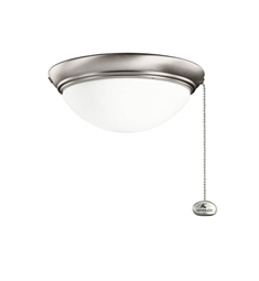 Kichler 380120AP 2-Bulb Flush Mount Indoor Ceiling Fixture