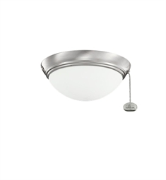 Kichler 380120BSS 2-Bulb Flush Mount Indoor Ceiling Fixture