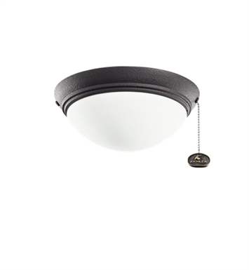 Kichler 380120DBK 2-Bulb Flush Mount Indoor Ceiling Fixture