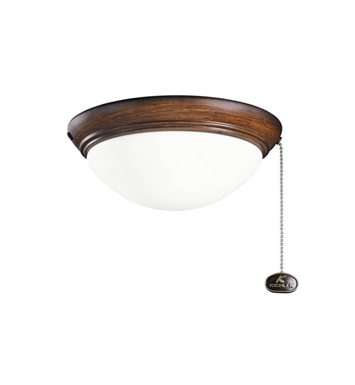 Kichler 380120MDW 2-Bulb Flush Mount Indoor Ceiling Fixture