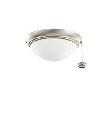 Kichler 380120NI 2-Bulb Flush Mount Indoor Ceiling Fixture