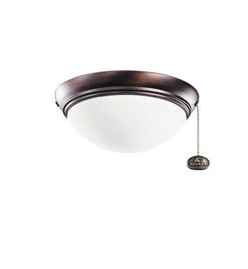 Kichler 380120OBB 2-Bulb Flush Mount Indoor Ceiling Fixture