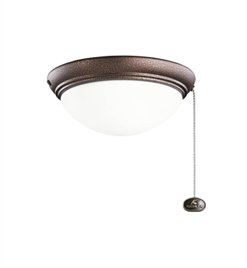 Kichler 380120WCP 2-Bulb Flush Mount Indoor Ceiling Fixture