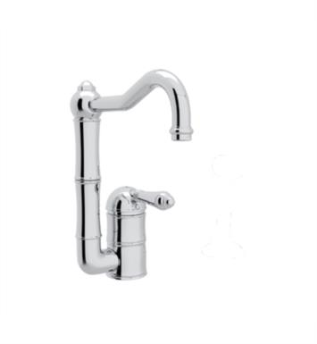 "Rohl A3608-6.5 Country Kitchen 6 1/2"" Deck Mounted C-Spout Bar/Food Prep Faucet"