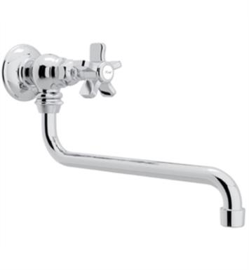 "Rohl A1445X-STN Country Kitchen 11 3/4"" Wall Mount Reach Pot Filler Faucet"