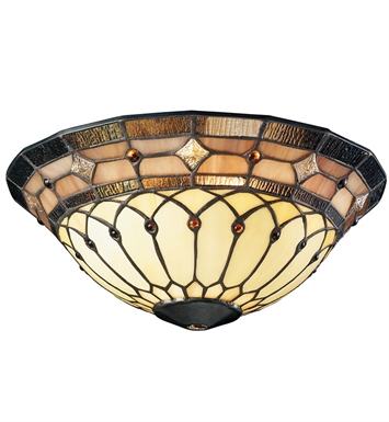 Kichler 340001 Tiffany Universal Bowl Glass for Ceiling Fans