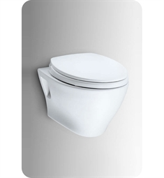 Toto Aquia® Wall-Hung Dual-Flush Toilet, 1.6GPF & 0.9GPF with SanaGloss