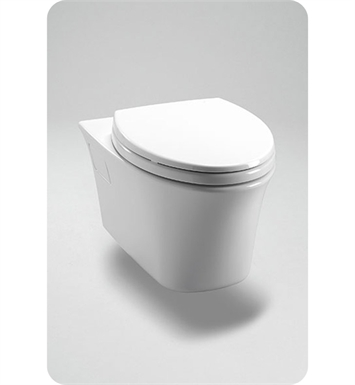 TOTO CT486FG#01 Maris® Wall-Hung Dual-Flush Toilet, 1.6GPF & 0.9GPF With Finish: Cotton