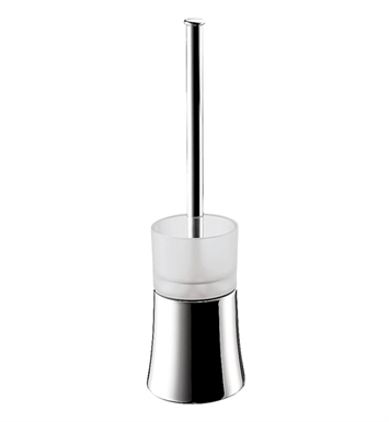 Hansgrohe 41536820 Axor Uno Toilet Brush with Holder Floor Version With Finish: Brushed Nickel