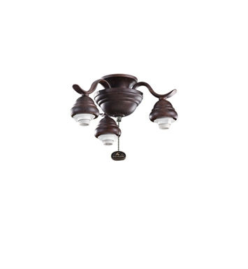Kichler 350101TZ 3-Bulb Decorative Fitter