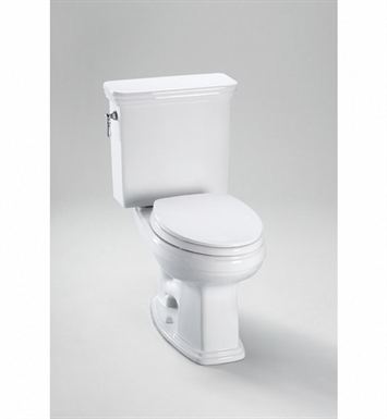 TOTO CST424EF#11 Eco Promenade® Toilet, Elongated Bowl 1.28 GPF With Finish: Colonial White