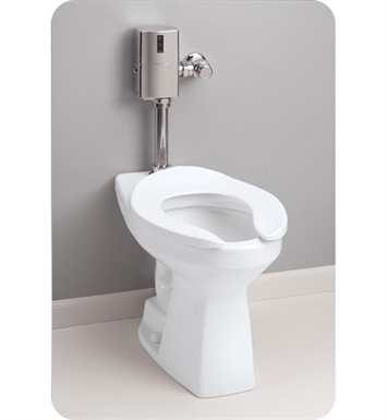 TOTO CT705ELN#12 Commercial Flushometer HET, 1.28 GPF  ADA With Finish: Sedona Beige