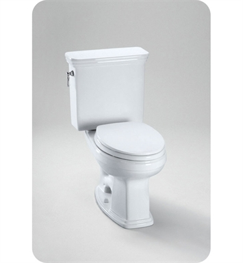 TOTO CST424EFG#01 Eco Promenade® Toilet, Elongated Bowl 1.28 GPF SanaGloss® With Finish: Cotton