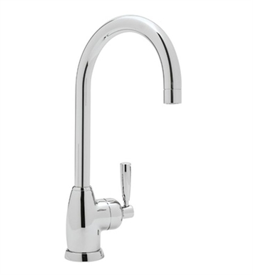 Rohl U-4842-APC Mimas Single Hole Bar Faucet with C-Spout With Finish: Polished Chrome