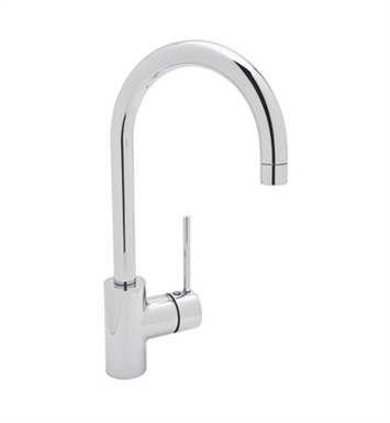 Rohl LS53-PN Modern Architectural Side Lever Bar Faucet With Finish: Polished Nickel
