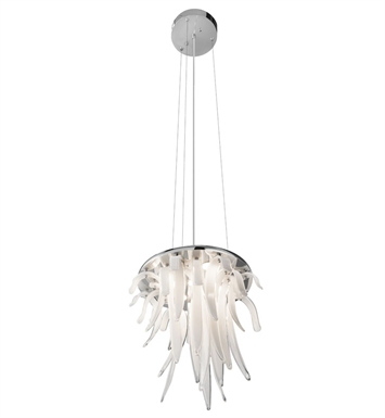 Elan Lighting 83013 Aurana™ Pendant in Chrome Finish