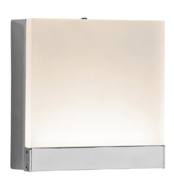 "Elan Lighting 83456 Colson 1 Light 5"" LED Wall Sconce in Chrome Finish"