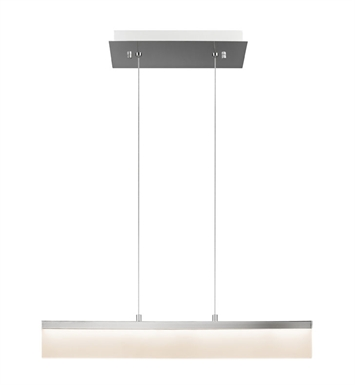 Elan Lighting 83457 Colson™ Linear Pendant in Chrome Finish