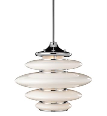 "Elan Lighting 83221 Cumulus 3 Light 18"" Halogen Pendant in Chrome Finish"