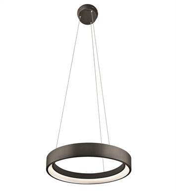 Elan Lighting 83453 Fornello™ Pendant in Sand Textured Black Finish