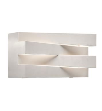 "Elan Lighting 83111 Massimik 1 Light 10 1/4"" Halogen Wall Sconce in White Finish"