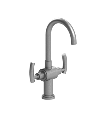 Rubinet 8PHOLSNMB H2O Dual Handle Bar Faucet With Finish: Main Finish: Satin Nickel | Accent Finish: Matt Black
