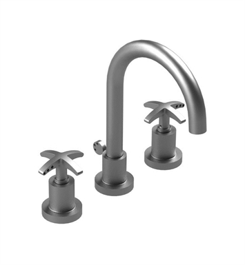 Rubinet 8ALACWHWH LaSalle Widespread Kitchen Faucet With Finish: Main Finish: White | Accent Finish: White