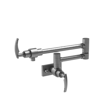 Rubinet 8ELALOBOB LaSalle Wall Mount Pot Filler With Finish: Main Finish: Oil Rubbed Bronze | Accent Finish: Oil Rubbed Bronze