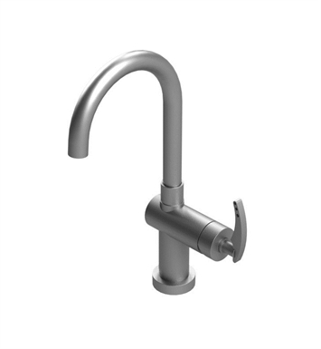 Rubinet 8PLALMBMB LaSalle Single Control Bar Faucet With Finish: Main Finish: Matt Black | Accent Finish: Matt Black