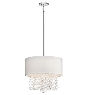 "Elan Lighting 83242 Piatt 4 Light 18"" Halogen Pendant in Chrome Finish"