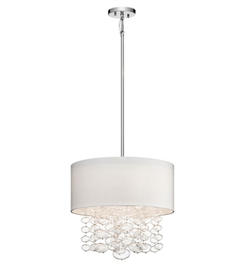 Elan Lighting 83242 Piatt™ Pendant in Chrome Finish