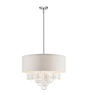 Elan Lighting 83245 Piatt™ Pendant in Chrome Finish
