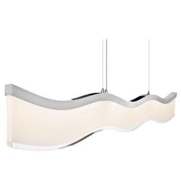 "Elan Lighting 83443 Ramay 4 Light 39 1/2"" LED Pendant in Chrome Finish"