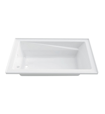"Neptune E15.19012.400031 Entrepreneur Azea 60"" x 32"" Alcove Jet Bathtub with Integrated Tiling Flange With Jet Mode: Whirlpool + Activ-Air Jets And Drain Position: Right Side - Integrated Tiling Flange"
