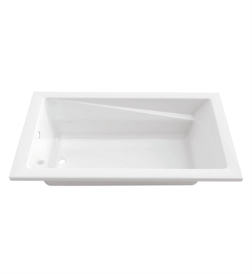 "Neptune E10.18912.0000 Entrepreneur Zenya 60"" x 32"" Podium Customizable Soaker Bathtub"