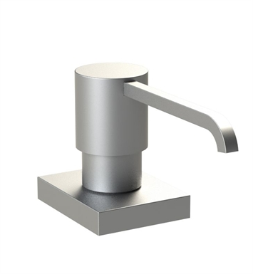 Rubinet 9YSD5SN R10 Brass Soap/Lotion Dispenser With Finish: Satin Nickel
