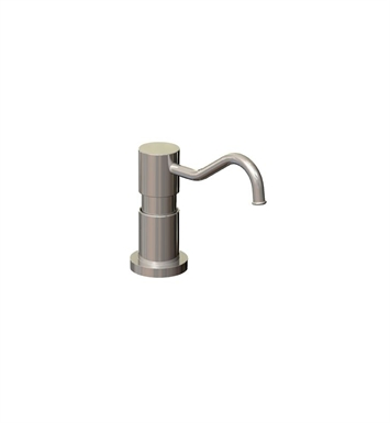 Rubinet 9YSD2NC H2O Brass Soap/Lotion Dispenser With Finish: Natural Cream