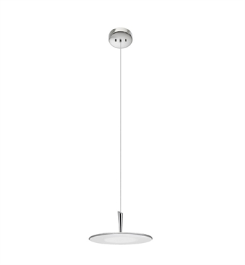 Elan Lighting 83322 Valdai™ Pendant in Brushed Nickel Finish