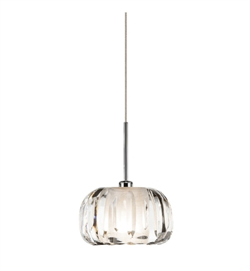 Elan Lighting 83270 Zucca™ Mini Pendant in Chrome Finish