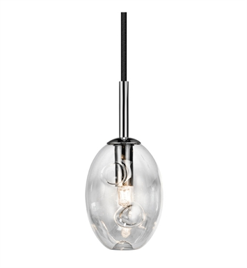 Elan Lighting 83253 Menicus™ Mini Pendant in Chrome Finish