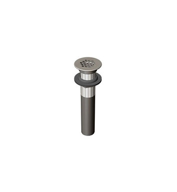 Rubinet 9DPU6SC Commercial Drain without Overflow With Finish: Satin Chrome