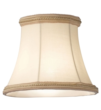 Kichler 4086BG Mithras Medium Beige Fabric Shades - Sold as a package of 6