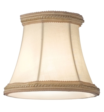 Kichler 4085BG Mithras Small Beige Fabric Shades - Sold as a package of 6