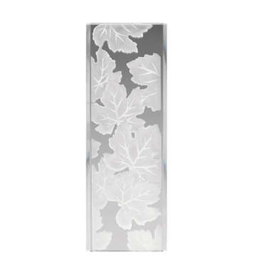 Kichler 4083 Modern Maple Leaves Pattern Stocked Glass Panel