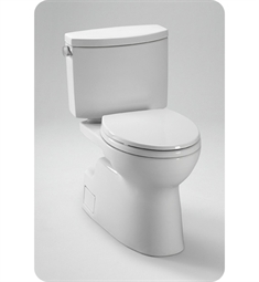 Toto Vespin® II Two Piece High Efficiency Toilet, with SanaGloss, 1.28GPF