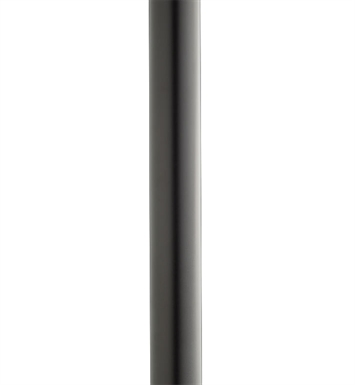 "Kichler 9501BK 84"" Direct Burial Aluminum Post with Ladder Rest"