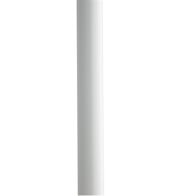"Kichler 9501WH 84"" Direct Burial Aluminum Post with Ladder Rest"