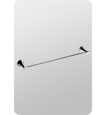 "TOTO YB40030#PN Transitional Collection Series B 30"" Towel Bar With Finish: Polished Nickel"