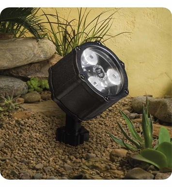 Kichler 15742BKT Landscape LED 6-Bulb Low Voltage Accent Light